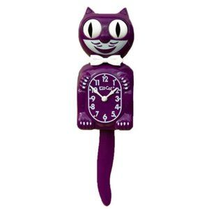 Urban Outfitters Boysenberry Kit-Cat Clock